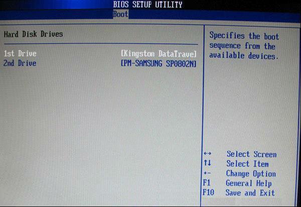 BIOS设置教程—-用于U盘启动